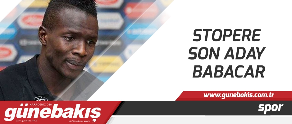 Stopere son aday Babacar