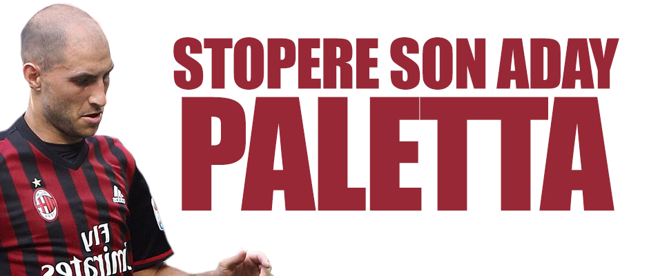 Stopere son aday Paletta