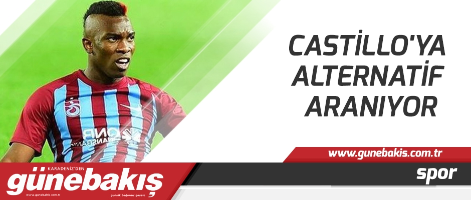 Castillo'ya alternatif aranıyor