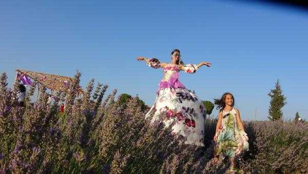 Colorful images of 'Lavender Festival' appeared in Didim