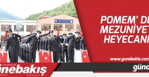 POMEM'de mezuniyet heyecanı