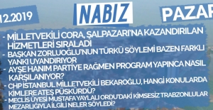 1 Aralık 2019 Pazar Nabızlar