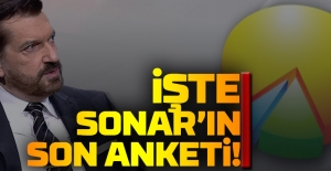 İŞTE SONAR#039;IN SON ANKETİ!